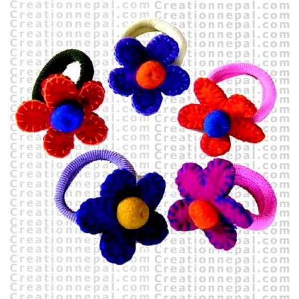Patch flower hairband 4