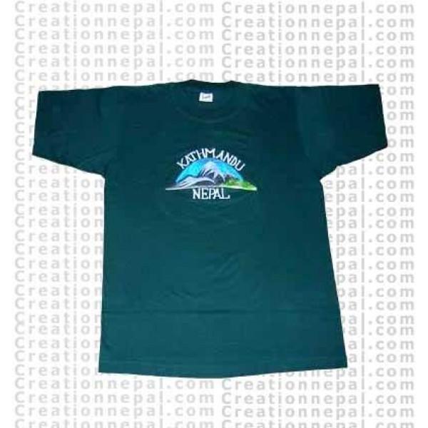 Kathmandu embroidered t-shirt