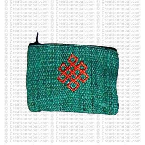 Hemp coin purse 1