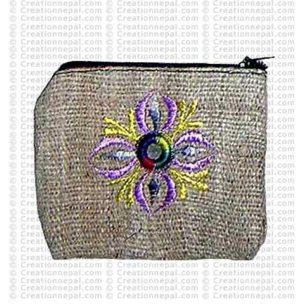 Hemp coin purse 4