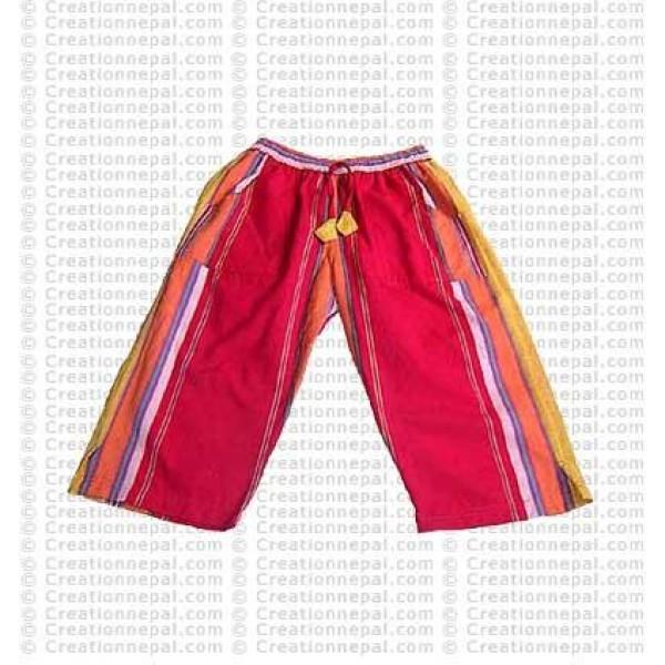 Shayama cotton quarter trouser