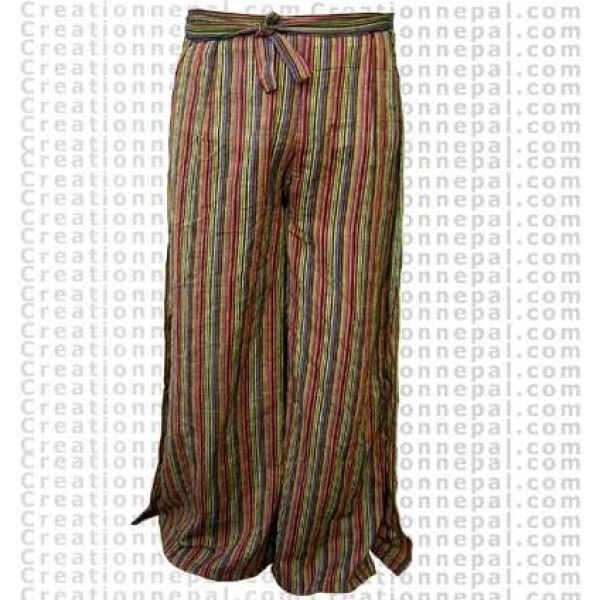 Cotton open trouser 2