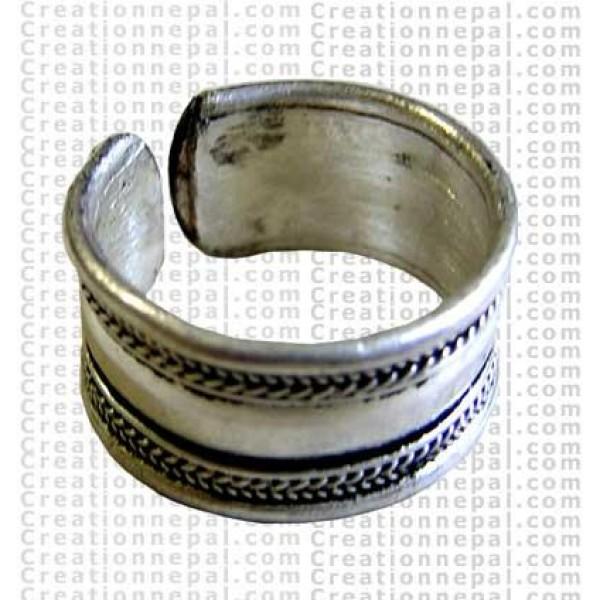 Plain finger ring