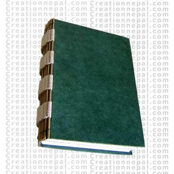 Hand cover note book
