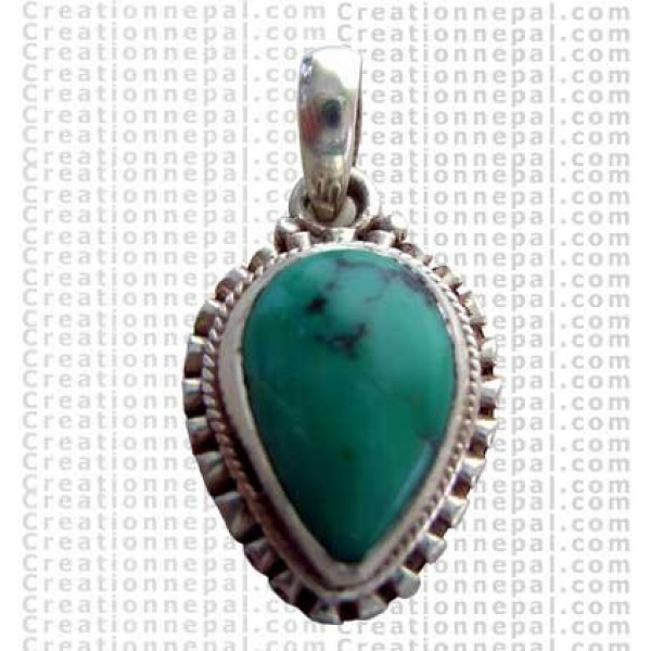 Small turquoise pendant