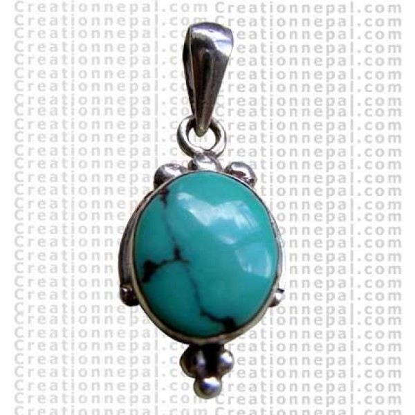 Small turquoise pendant 2