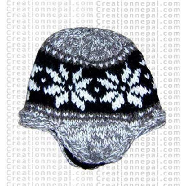 Woolen ear hat 2