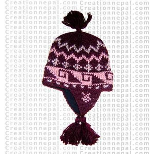 Woolen ear hat 3