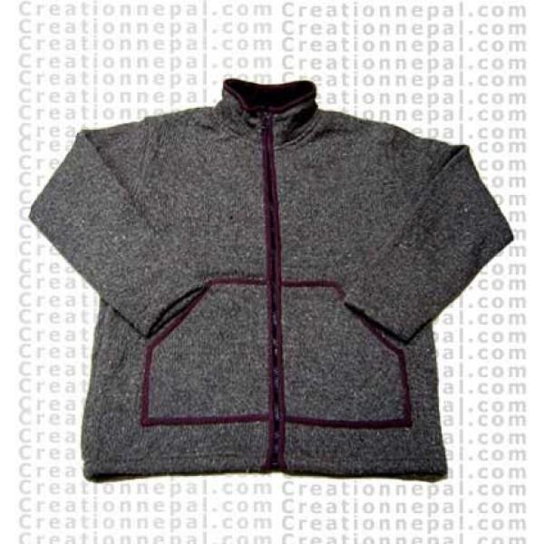 Woolen jacket 16