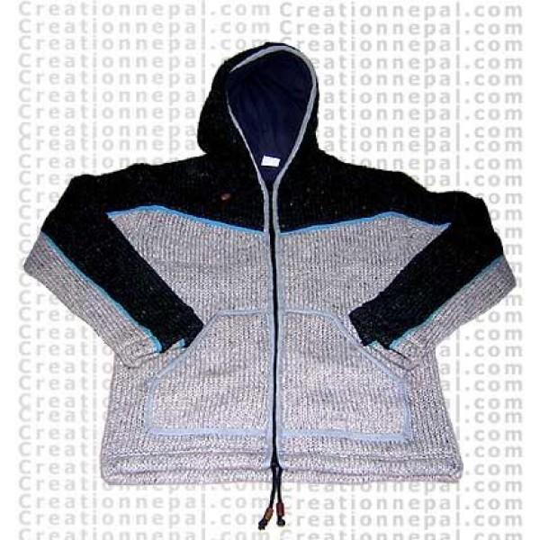 Woolen jacket 17