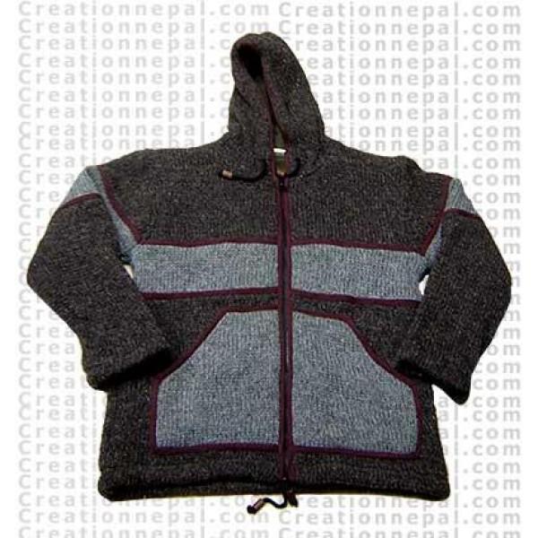 Woolen jacket 23