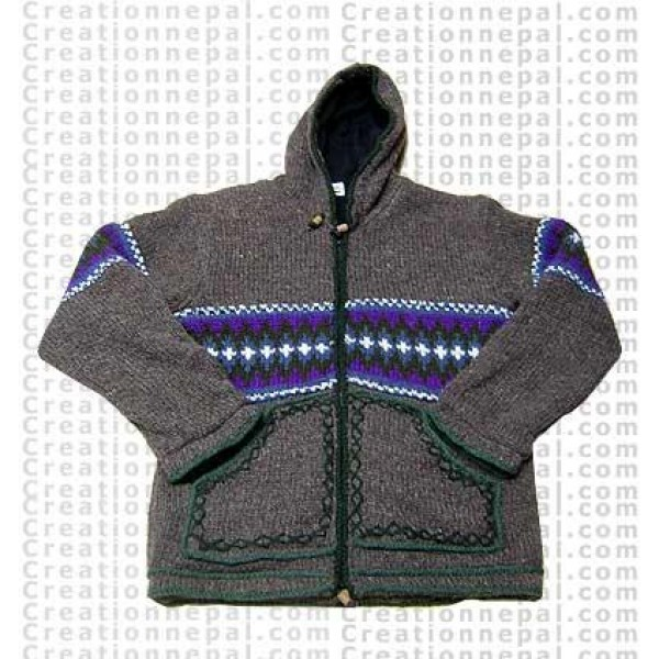 Woolen jacket 24