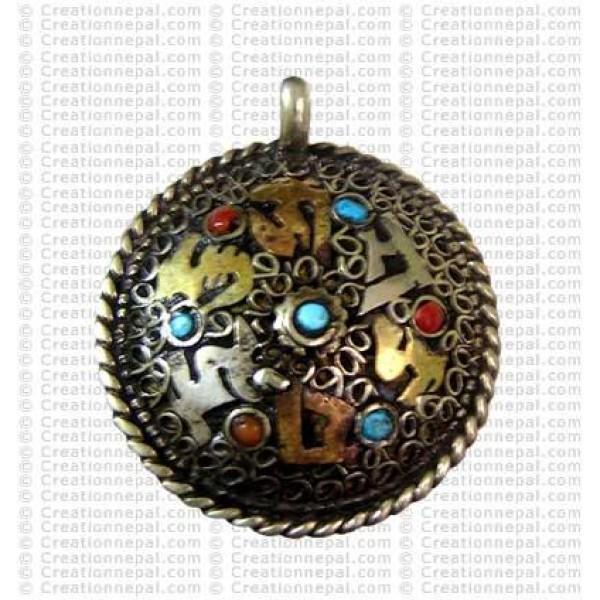 Filigree Tibetan Amulet