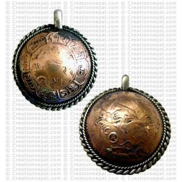 Small coin pendant