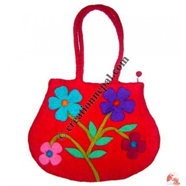 Water-pot design flower bag