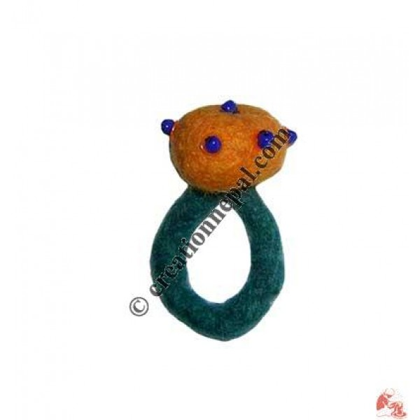 Felt finger ring 22