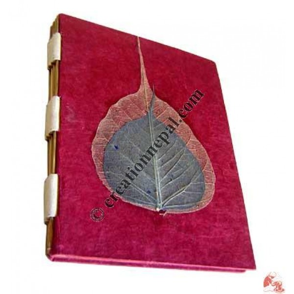 Bodhi leaf notebook