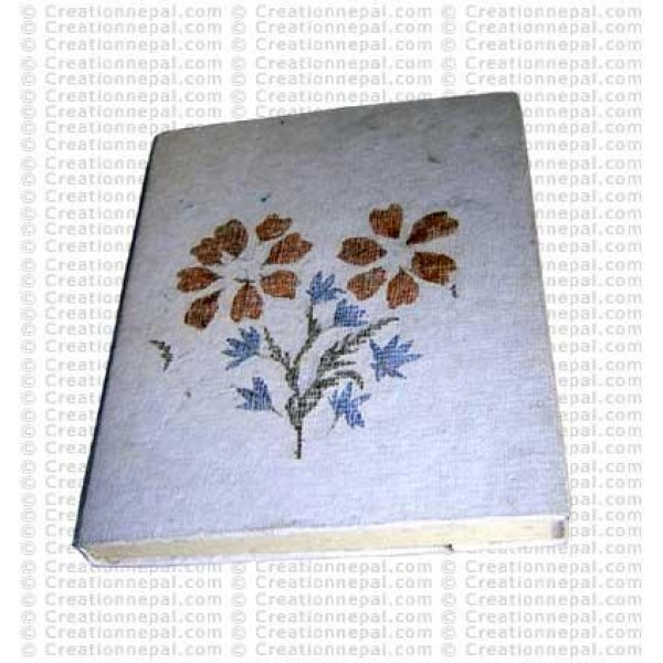 Flower tree notebook