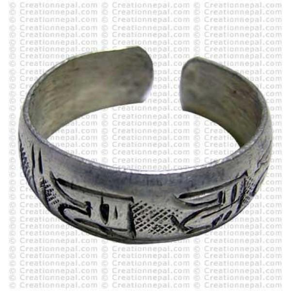 Om mane carved fingering