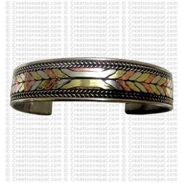 Flat rope design bracelet