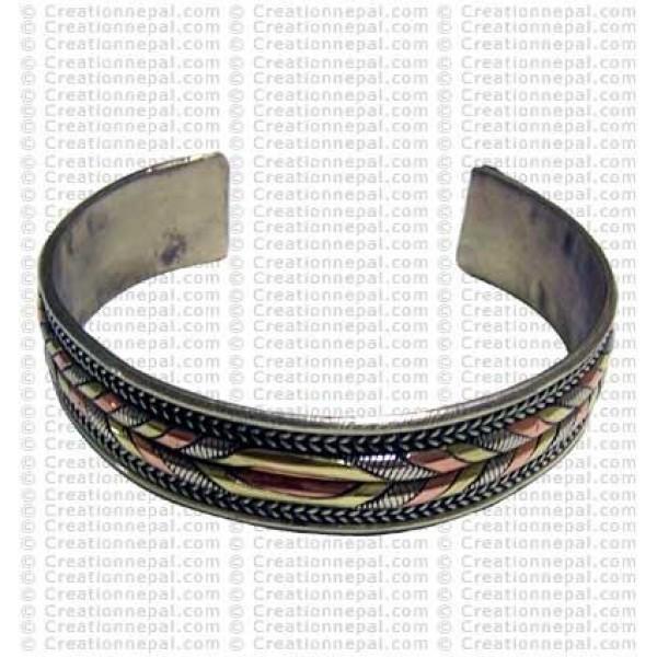 Double rope design bracelet