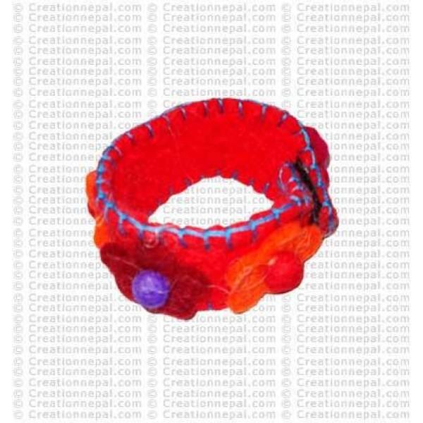 Felt Bracelet