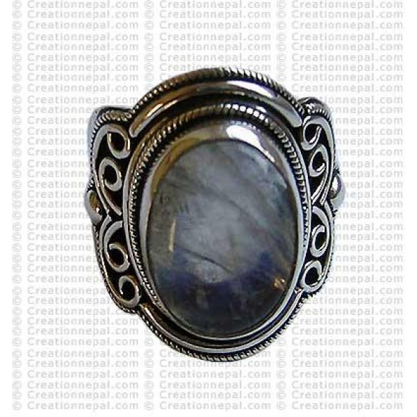 Cystal colour stone finger ring 1