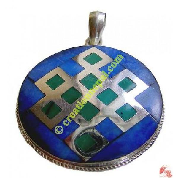 Round shape Tibetan pendant
