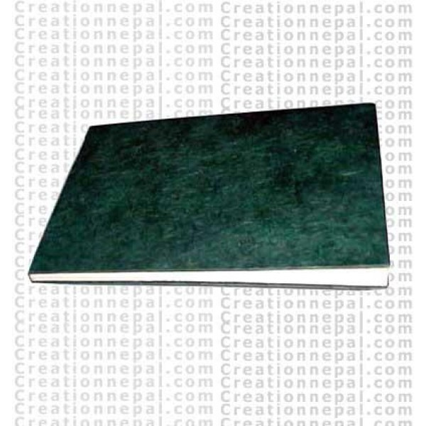 Plain hard covered note book