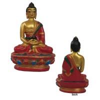 Super paint resin small Buddha