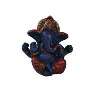 Lapis baby crowned Ganesha