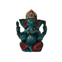 GRD colorful crowned Ganesha