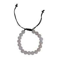 Rose quartz beads wristband