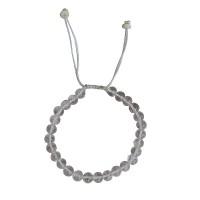 Crystal stone 8 mm beads bracelet