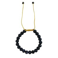 Sun stone 8mm beads bracelet