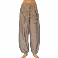 Grey color khaddar front pockets trouser