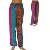 Panel joined sinkar tie dye trouser
