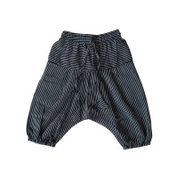 BW stripes cotton baby harem pant