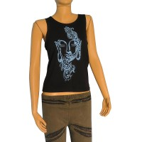 Artistic Buddha print ladies sando vest