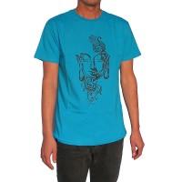 Artistic Buddha print cotton t-shirt