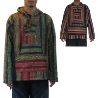 Brushed Gheri cotton pullover