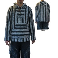 Brushed Gheri cotton BW pullover