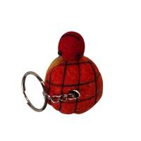 Turtle design key ring