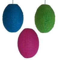 Medium oval net lampshade