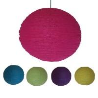 Net medium ball lampshade