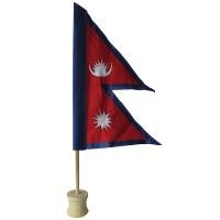 Nepal Flag 9 inch