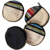 Round shape medium size purse