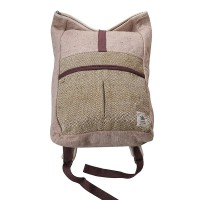 Hemp cotton large size parallel bag