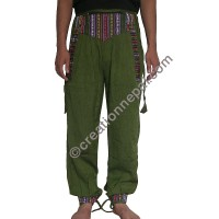Bhutani lace Green trouser