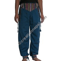 Bhutani lace blue color trouser
